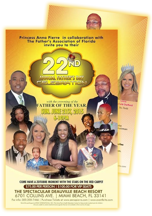 Anna Pierre's 22 Annual Father's Day Celebration